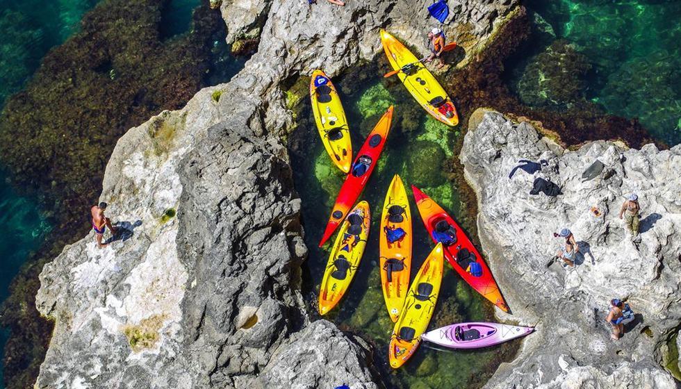 kayaks in Tenerife